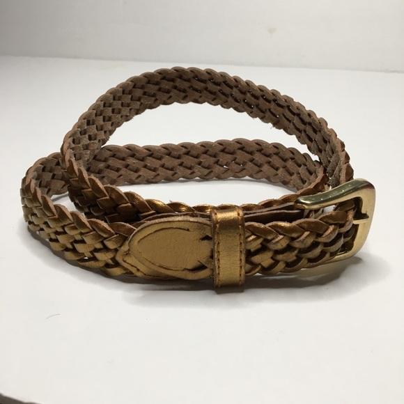 Accessories - Gold Braided Belt